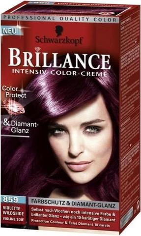 Haarfarbe Lila 1 - (Haare, Friseur, Haarfarbe)