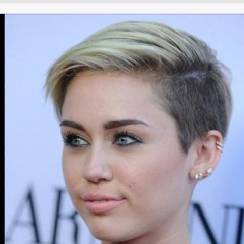 Haare Wie Miley Cyrus Schneiden Von Mittel Lang Frisur Neu Cool