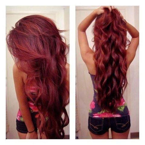 Welche Farbe ist das ? - (Haare, Farbe, rot)