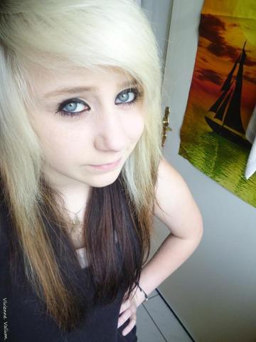 Meine Haarfarbe nur beachten, mehr nicht! xD - (Haare, Fotografie, Haarfarbe)