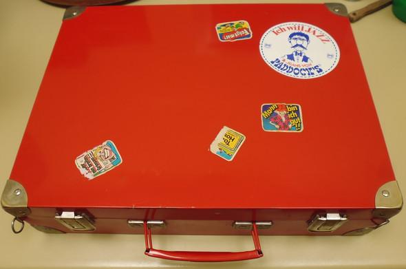 Koffer - (Metall, sammeln, Koffer)