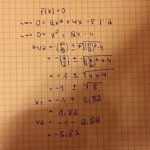 Diese Rechnung  - (Mathe, Mathematik, Gleichungen)