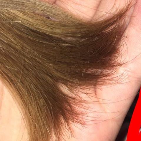 Haare kurz schneiden wegen spliss