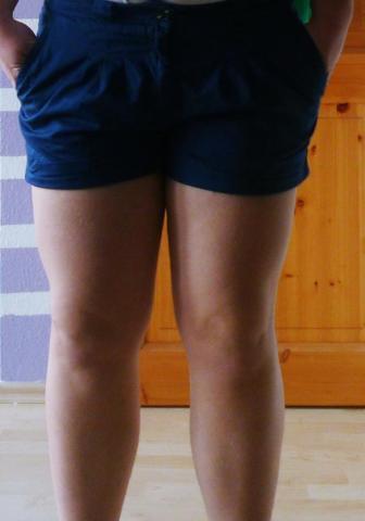 Dicke beine oberkörper dünner Ich habe