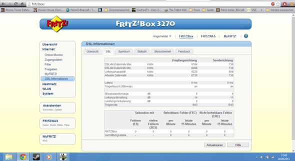 8K (Problem) - (Internet, Vodafone, Arcor)