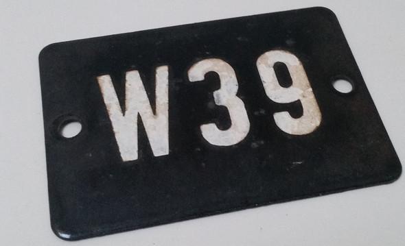 W 39 - (Bahn, alt, Weich)