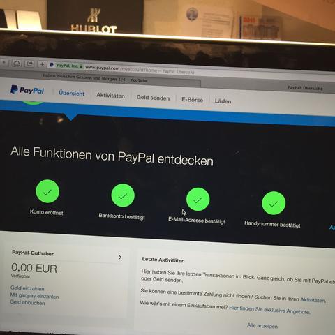 Ist Ein Paypal Konto Kostenlos