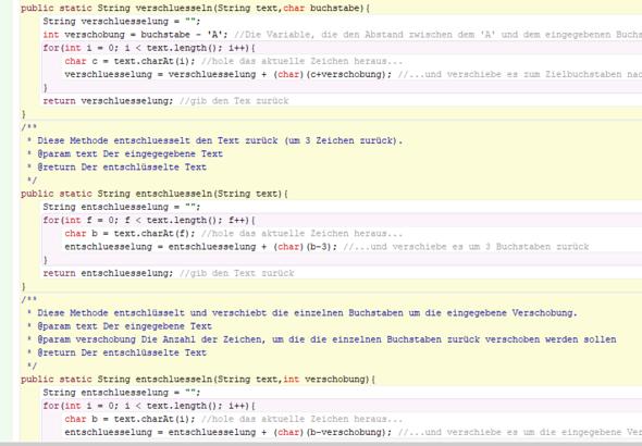 Teil 2 der ersten Klasse - (programmieren, Java)