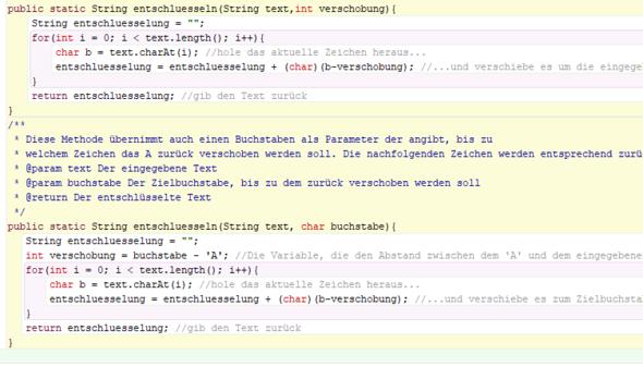 Teil 3 der ersten Klasse - (programmieren, Java)