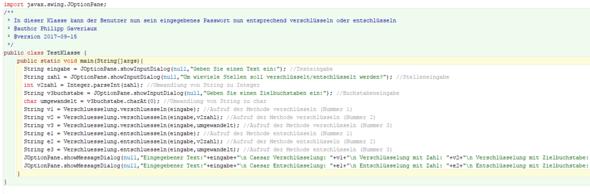 Test Klasse - (programmieren, Java)