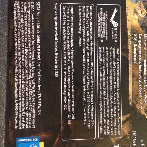 Verpackung  - (Games)