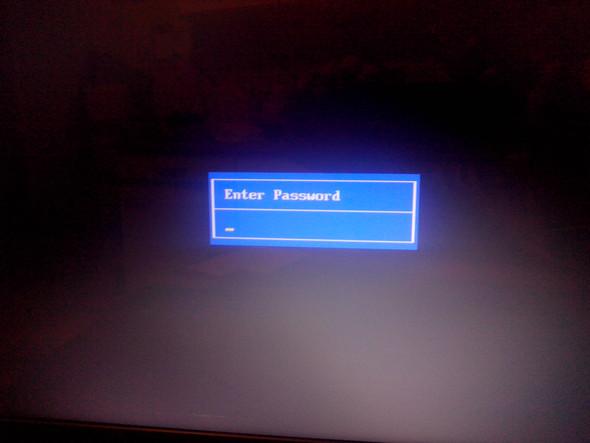 Enter password - (PC, VirusTrojaner)