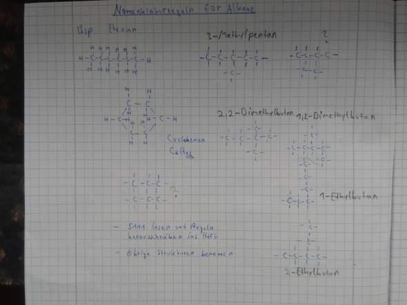 - (Schule, Chemie, alkane)