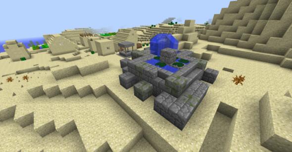 Das hier zum Beispiel wird gespawnt. - (Minecraft, Gaming, Installatio)