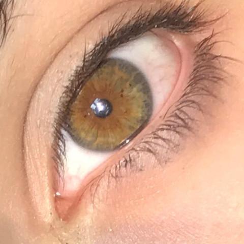 Braune bedeutung grüne augen Blaue Augen: