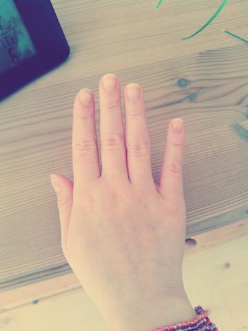 Meine hand - (Hand, Nägel)