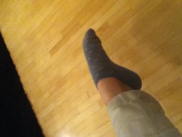 Mein linkes Bein - (Tanz, Ballett, Spitzentanz)