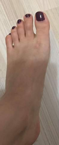 Habe ich komische Füße?