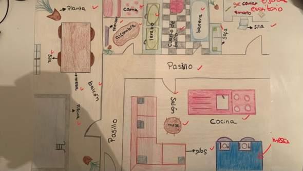 Habe ich meine Traum Wohnung richtig beschrieben in Spanisch?