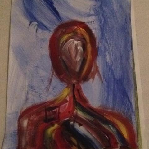 Acryl - (Kunst, Philosophie, zeichnen)