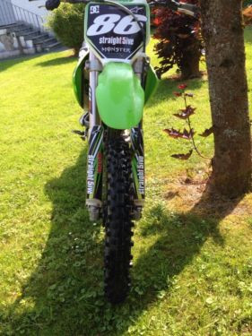Kawasaki kx 250 - (Motorrad, Cross)