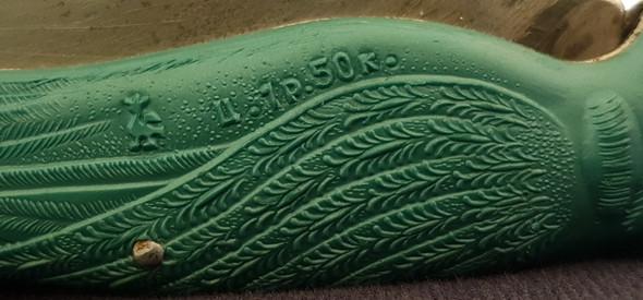 Die einzigste Schrift auf dem Messer - (Messer, unbekannt)