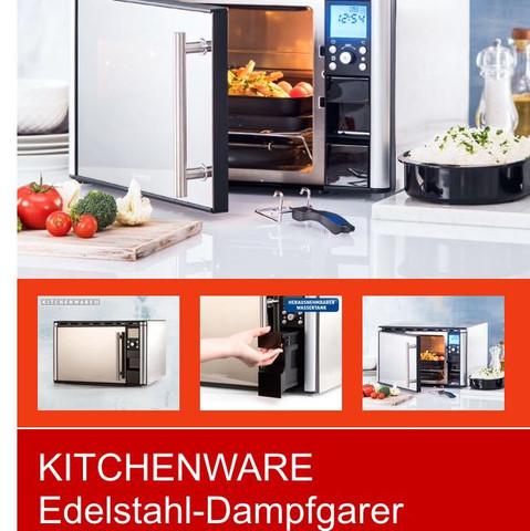 Dampfgarer Edelstahl Kitchenware  - (Küche, Dampfgarer, Kitchenware)