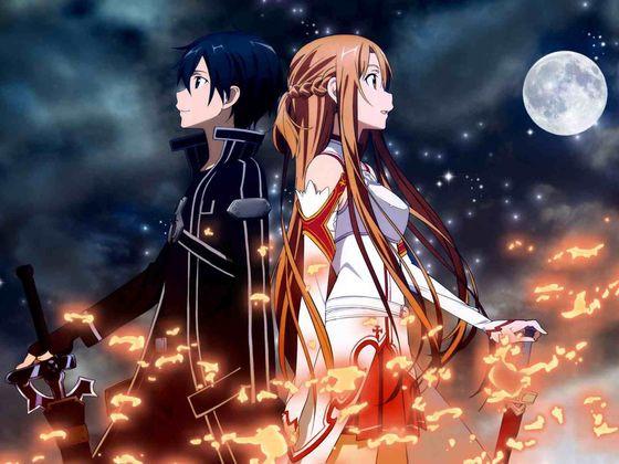 Sword Art Online - (Anime, Romance, ecchi)