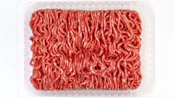 Hackfleisch wie Würmer warum?
