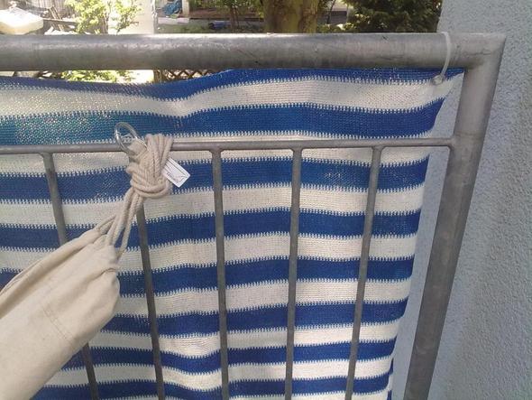 H Ngematte An Balkon Welche Haken Befestigen