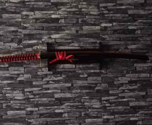 Hängt das Schwert so richtig?