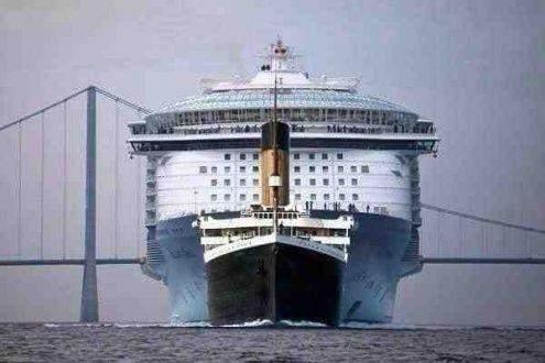 Hätte man 1912 gedacht ,dass  mal so grosse Kreuzfahrtschiffe gebaut werden?