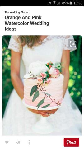 Hochzeitstorte - (backen, ganache, Hochzeitstorte)