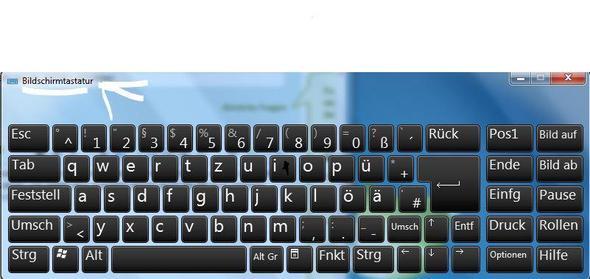 meine bildschirmtastatur - (Taste, bildschirmtastatur)