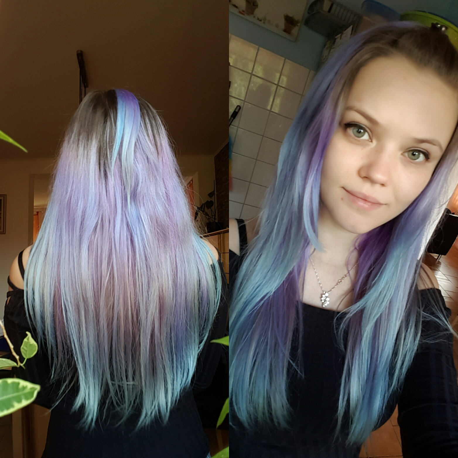 hallo wei einer womit ich directions violett aus den haaren bekomme auswaschen. Black Bedroom Furniture Sets. Home Design Ideas