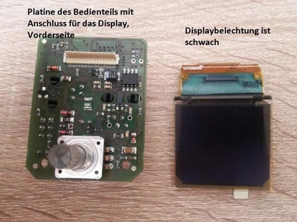 Hallo an alle Elektroniker: Oled Display austauschen?
