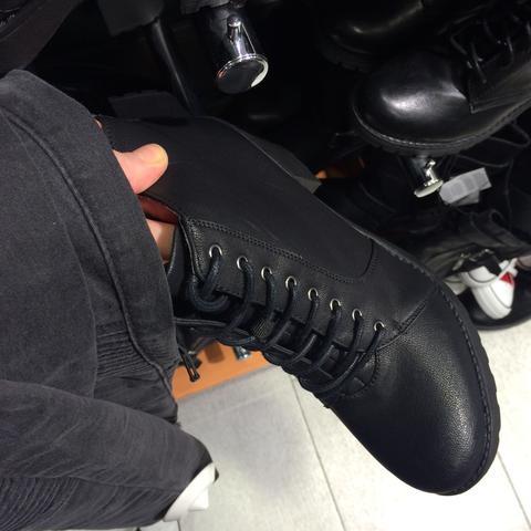 vorne  - (Schuhe, schwarz, New Yorker)