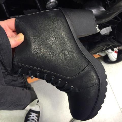 Seite - (Schuhe, schwarz, New Yorker)