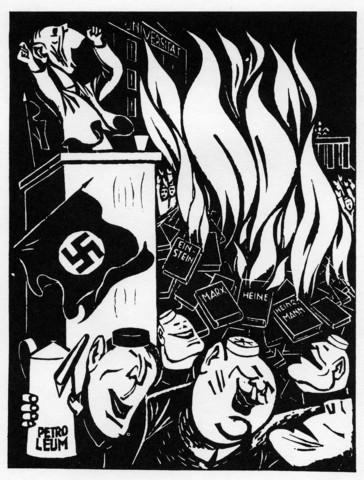 Bücherverbrennung - (Geschichte, Deutschland, Adolf Hitler)