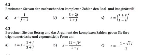 Komplexe Zahlen im Quadrat - (Mathe, Mathematik, Rechnen)