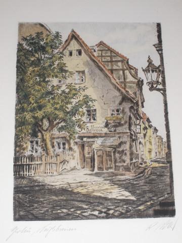 """Bild """"Der Nussbaum"""" - (Bilder, Kunst)"""