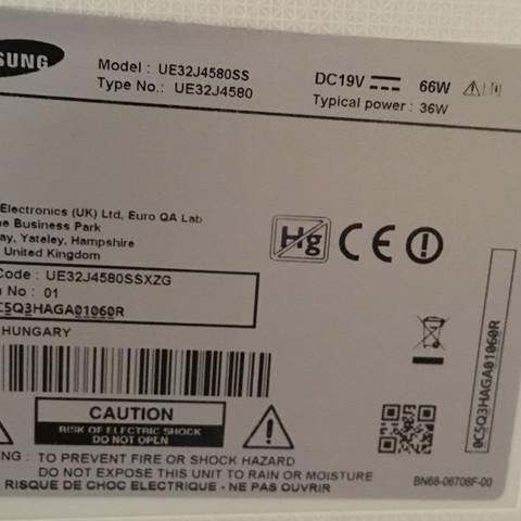 Da ist die Serien Nummer drauf  - (Samsung, Telekommunikation, Bildschirm)