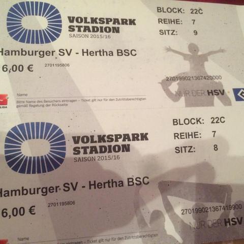 Hsv - (HSV, Hsv tickets)
