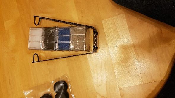 Hier ist der Filter zu sehen, mit den einzelnen Kammern. - (Aquarium, Aquaristik, Bakterien)