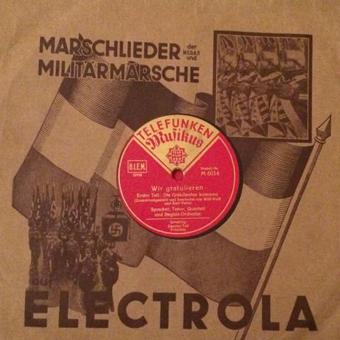 Schallplatte  - (Foto, Schallplatten)