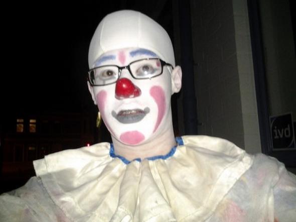 Hallo Ich Bin Jan Und Laufe Gerne Als Clown Geschminkt Und