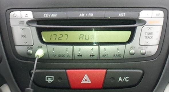 Standard CD Player mit AM/FM  - (Technik, Auto, Radio)