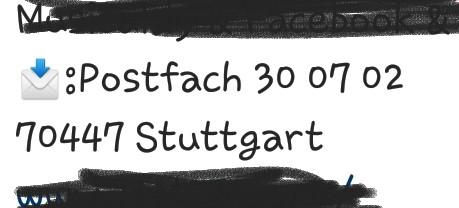 Bitte Um Hilfe Bei Anschrift Adresse Deutschland Post Brief