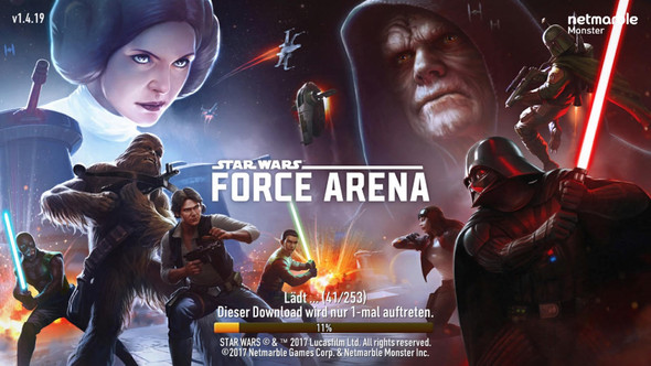 Star Wars Force Arena - (Spiele, iPhone, Apps)