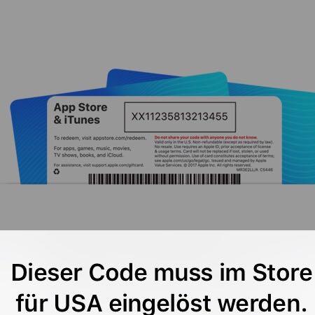 österreichische itunes karte in deutschland einlösen Hallo, ich hab mir eine ITunes Karte gekauft und wenn ich ihn